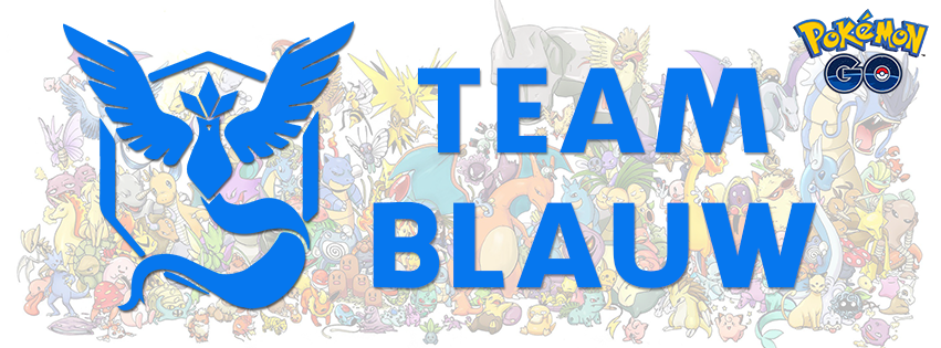 team blauw pokemon go