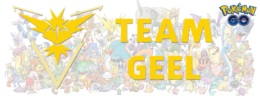 team geel pokemon go
